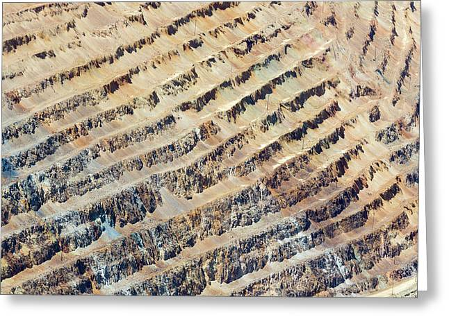 Bingham Canyon Copper Mine Greeting Card