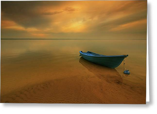 Boat... Greeting Card