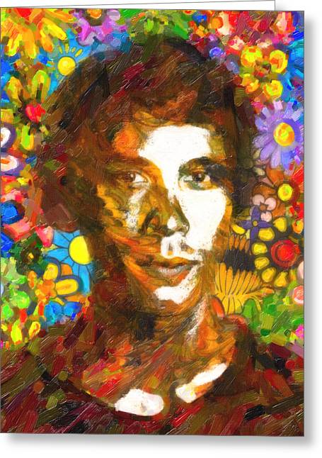 Bob Morley Greeting Card by Celestial Images
