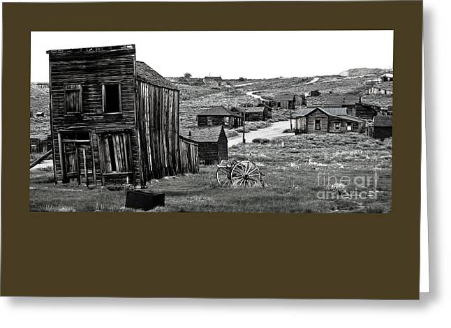 Bodie California Greeting Card by Nick  Boren