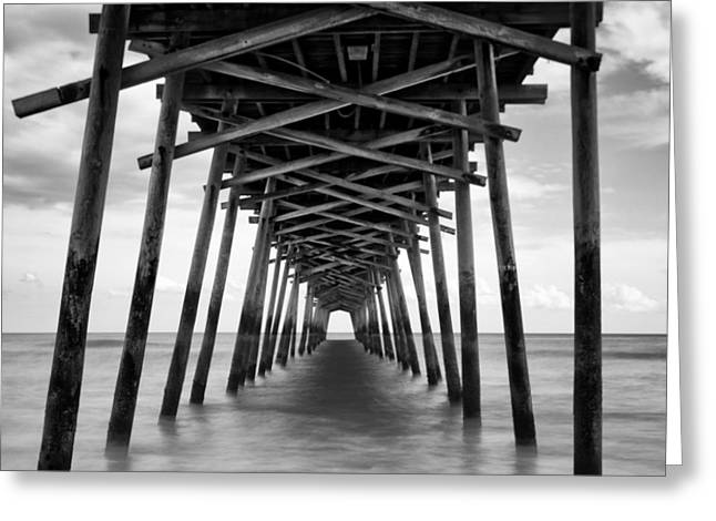 Bogue Inlet Fishing Pier #2 Greeting Card