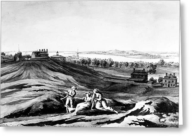 Boston, 1776 Greeting Card by Granger