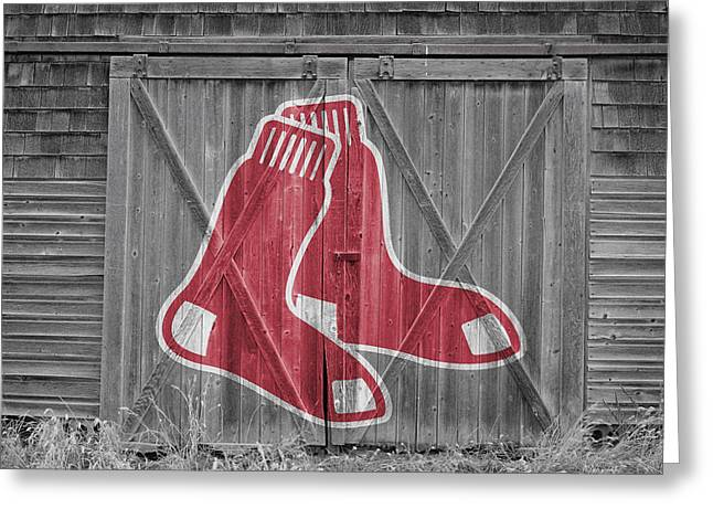 Boston Red Sox Greeting Card