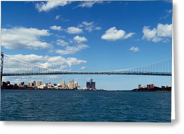 Bridge Across A River, Ambassador Greeting Card