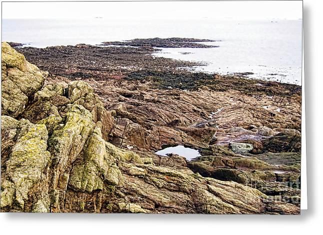 Brittany Coast Greeting Card