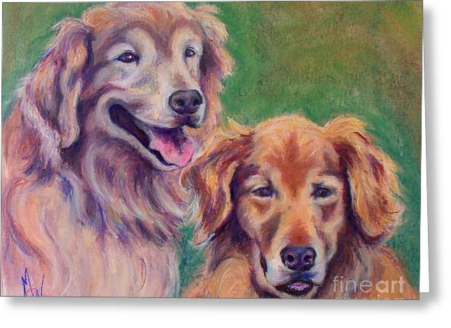 Brothers Greeting Card by Mindy Sue Werth