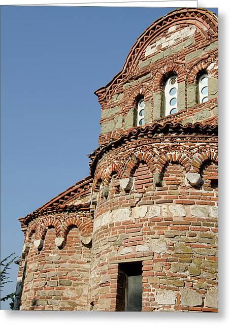 Bulgaria, Nessebur (aka Nessebar Or Greeting Card by Cindy Miller Hopkins