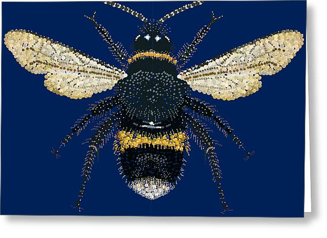 Bumblebee Bedazzled Greeting Card