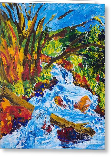 Burch Creek Greeting Card