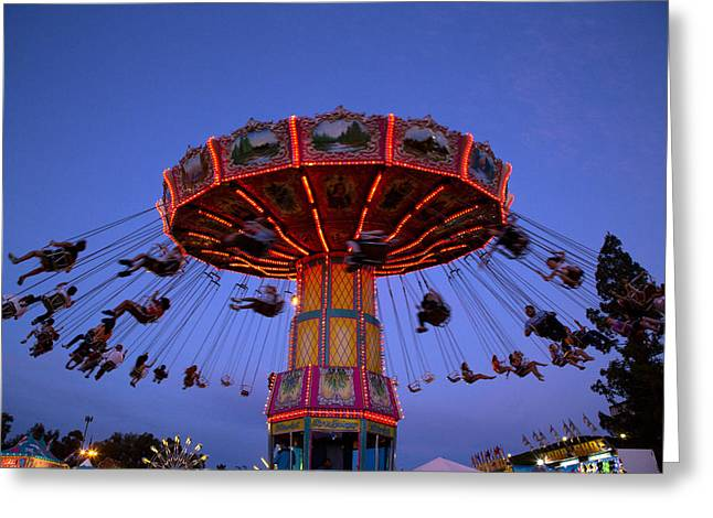 California State Fair In Sacramento Greeting Card