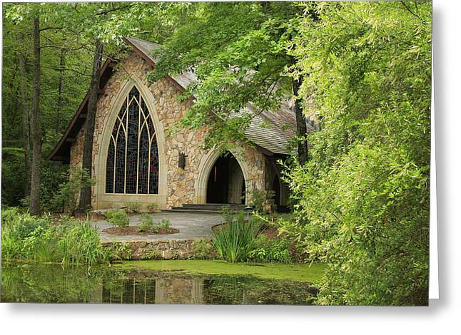Callaway Gardens Chapel - Pine Mountain Georgia Greeting Card by Mountains to the Sea Photo