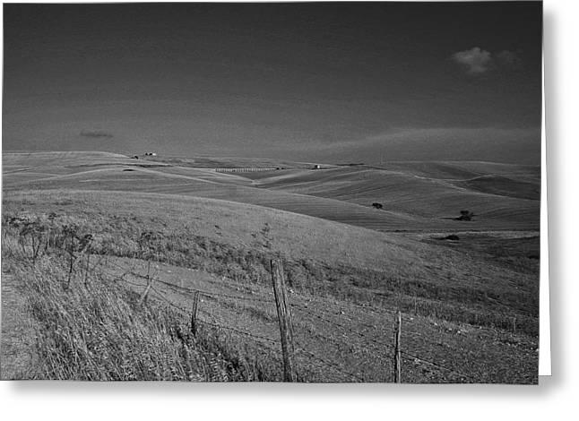 Tarquinia Landscape Campaign Greeting Card