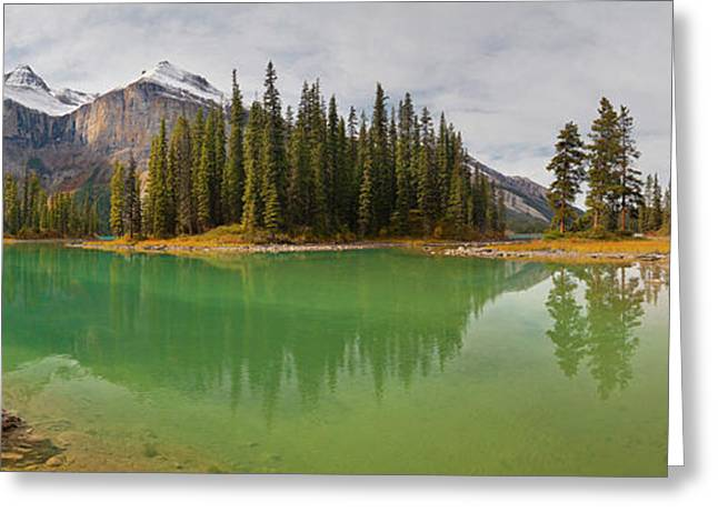 Canada, Alberta, Jasper National Park Greeting Card by Gary Luhm