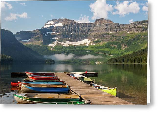 Canada, Alberta, Waterton Lakes Greeting Card