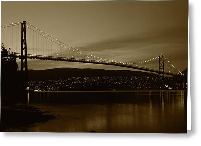 Canada, British Columbia, Vancouver Greeting Card by Paul Souders