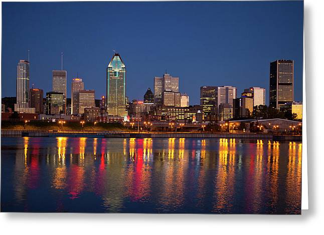 Canada, Quebec, Montreal Greeting Card