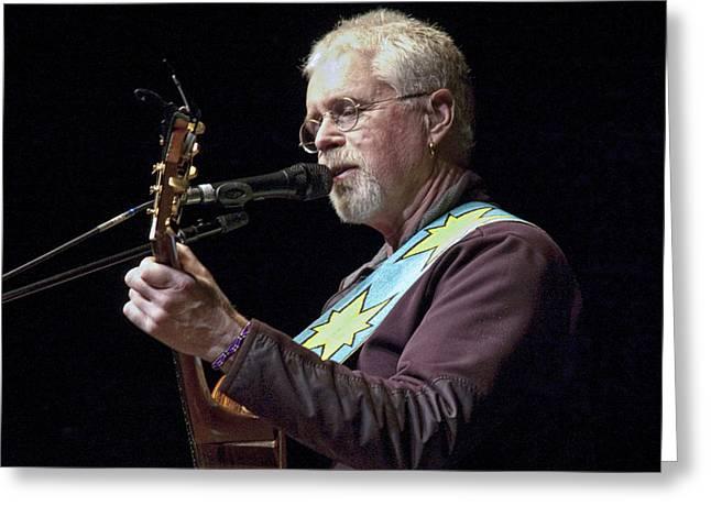 Canadian Folk Rocker Bruce Cockburn Greeting Card