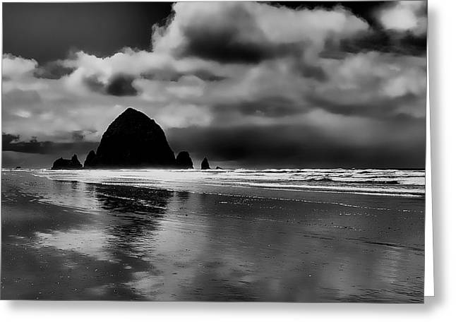 Cannon Beach - Oregon Greeting Card by David Patterson