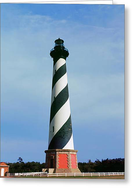 Cape Hatteras Lighthouse, Outer Banks Greeting Card by Panoramic Images