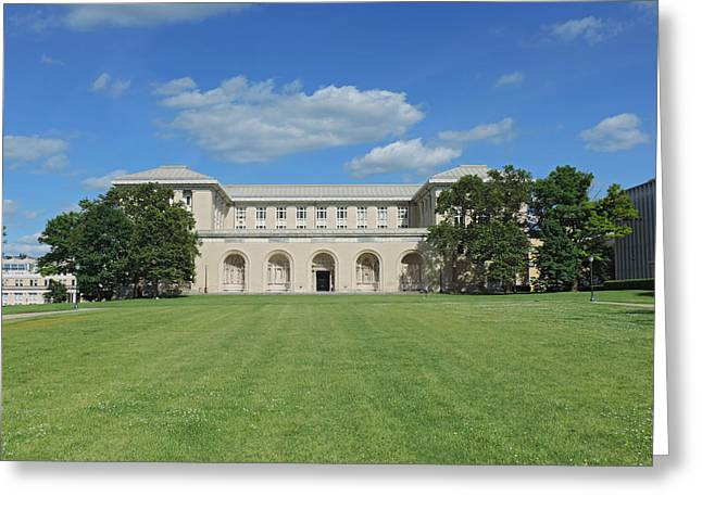 Carnegie Mellon University Greeting Card by Cityscape Photography