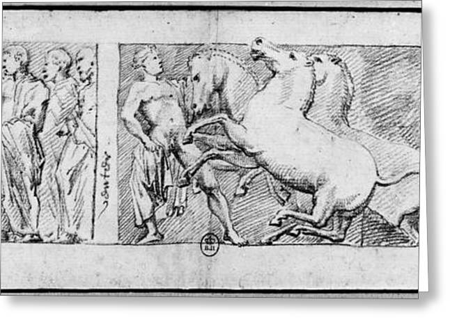 Carrey Parthenon, 1674 Greeting Card by Granger