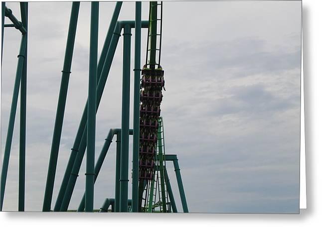 Cedar Point - Raptor - 12123 Greeting Card