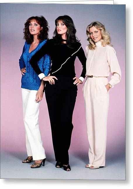 Charlie's Angels  Greeting Card by Silver Screen