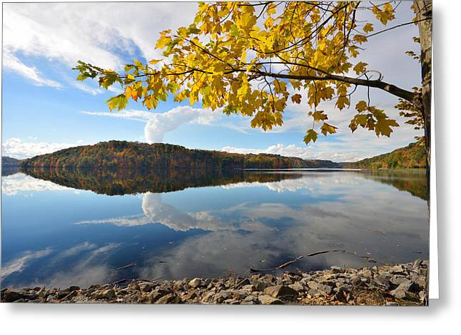 Cheat Lake - West Virginia Greeting Card by Dung Ma