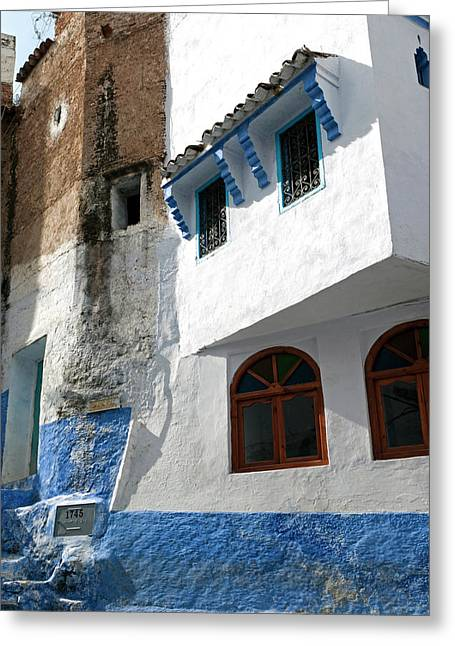 Chefchaouen (chaouen Greeting Card by Nico Tondini
