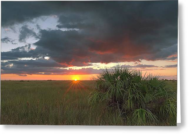 Chekili Sunset Greeting Card