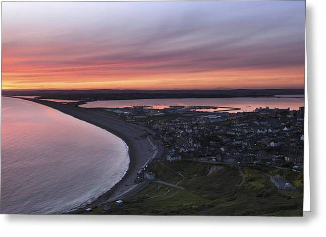 Chesil Beach  Greeting Card by Ollie Taylor