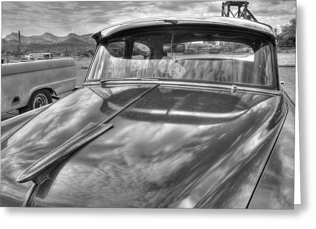 Chevy Classic Greeting Card by Tam Ryan