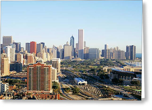 Chicago, Illinois, Usa Greeting Card