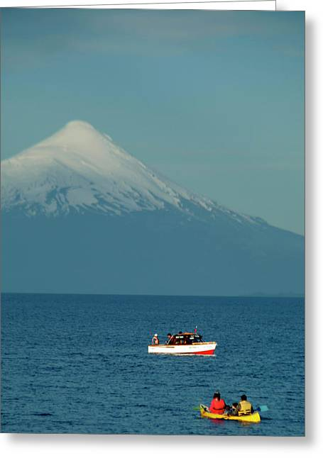 Chile, Puerto Varas Greeting Card by Kymri Wilt