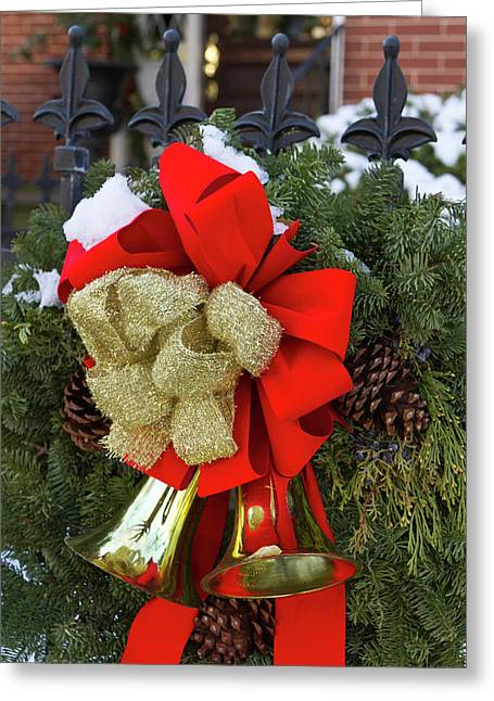 Christmas Wreaths And A Rare Holiday Greeting Card