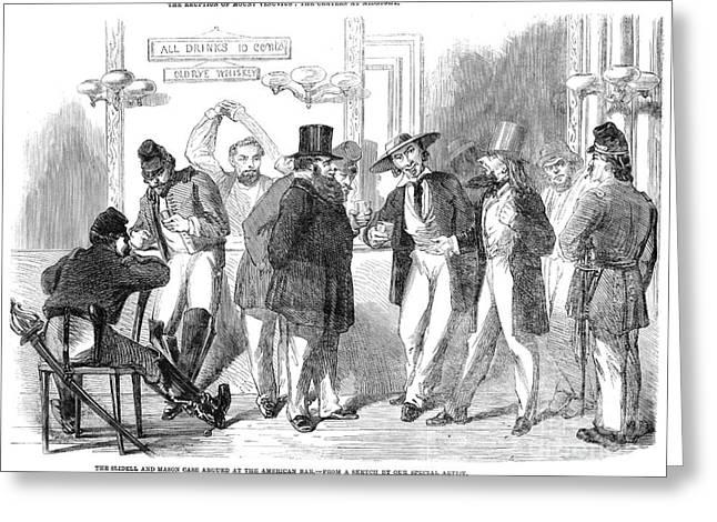 Civil War: Trent Affair Greeting Card by Granger