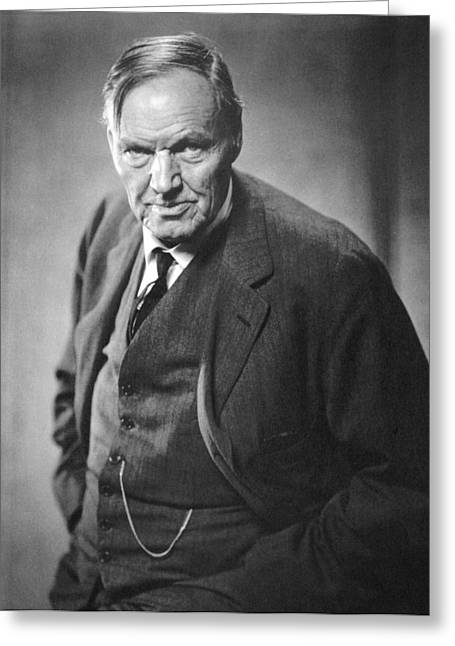 Clarence Darrow (1857-1938) Greeting Card by Granger