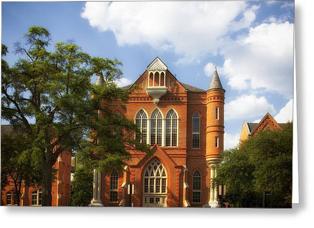 Clark Hall - University Of Alabama Greeting Card by Mountain Dreams