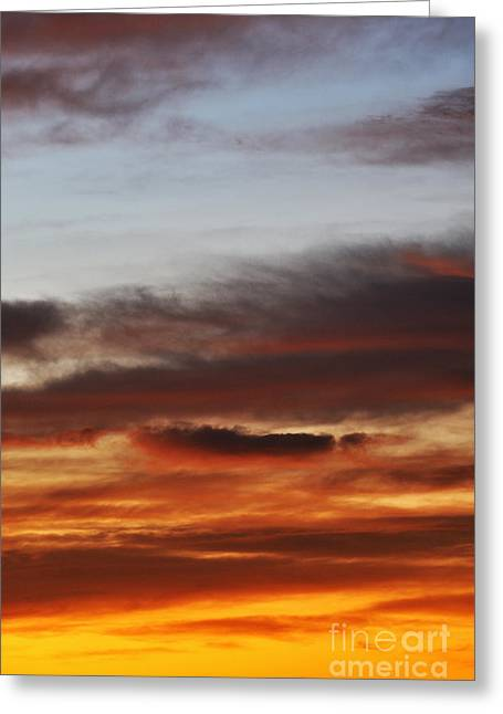 Cloudscape At Sunrise Greeting Card by Sami Sarkis