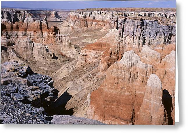 Coal Mine Canyon 1 Greeting Card