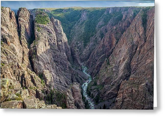 Colorado, Gunnison National Park Greeting Card