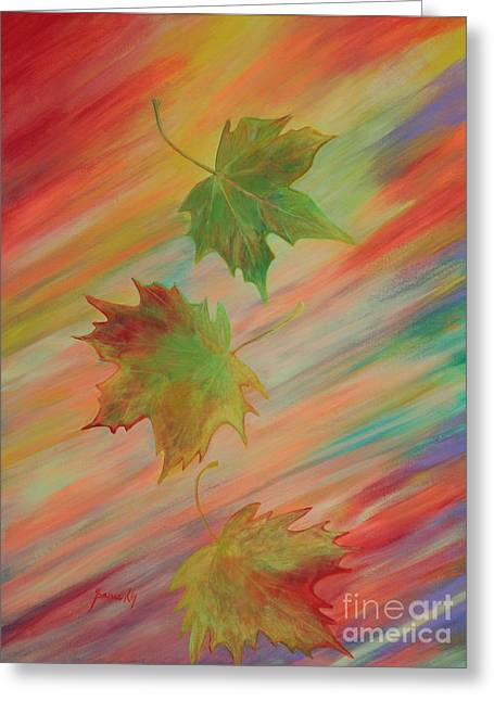 Colours Of Autumn. Inspirations Collection. Greeting Card