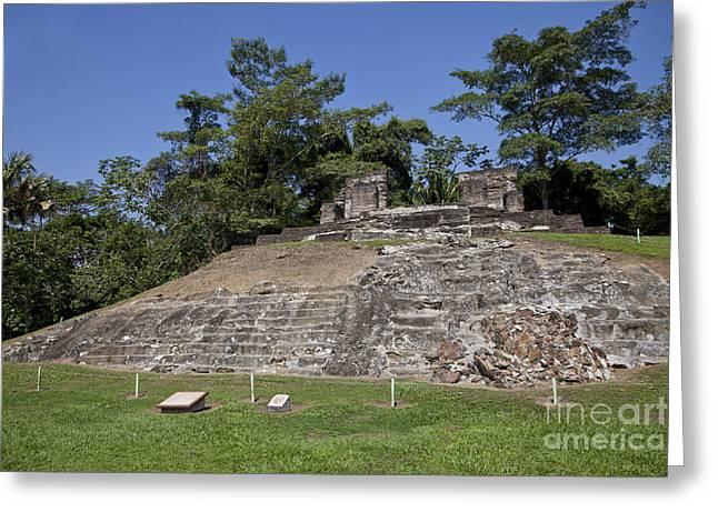 Comalcalco Archeological Ruins Greeting Card