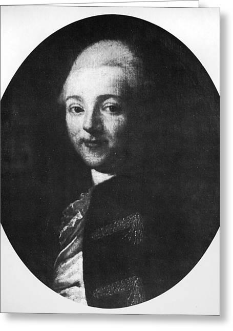 Comte De La Perouse (1741-1788) Greeting Card