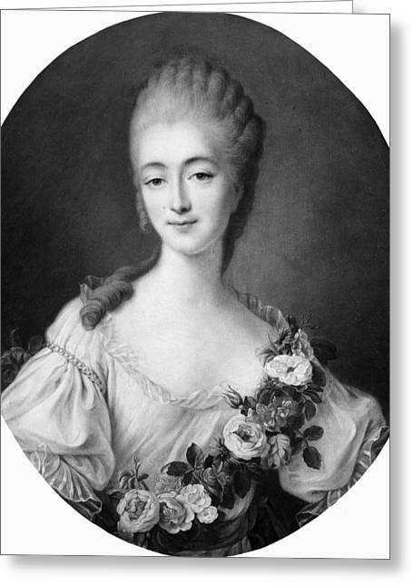 Comtesse Du Barry (c1746-1793) Greeting Card