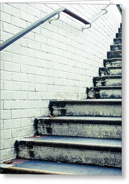 Concrete Steps Greeting Card