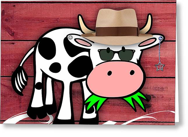 Cool Cow Collection Greeting Card
