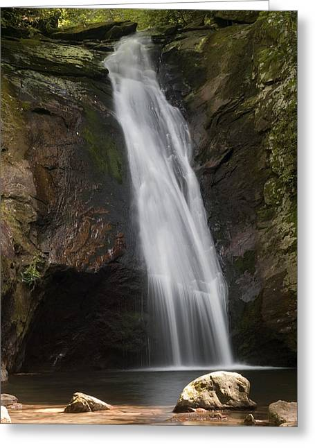 Courthouse Falls North Carolina Greeting Card