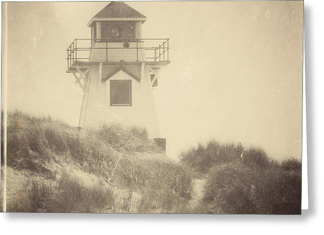 Covehead Light Greeting Card by Meg Lee Photography