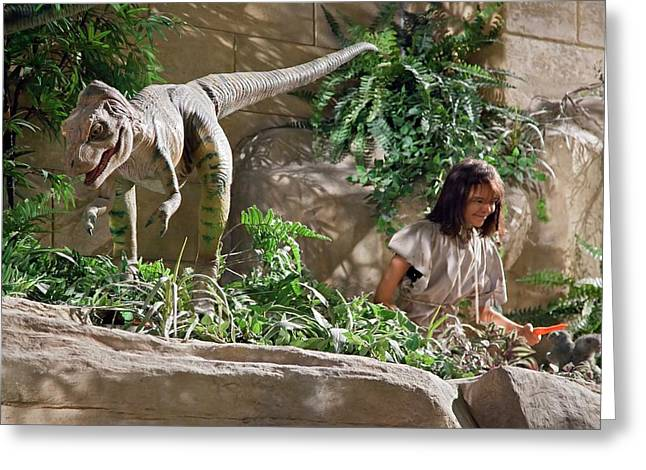 Creation Museum Exhibit Greeting Card by Jim West